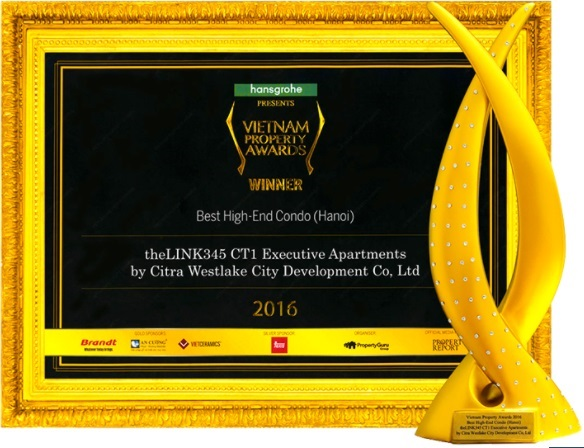 Ciputra Hanoi - Enterprise receives many gold awards