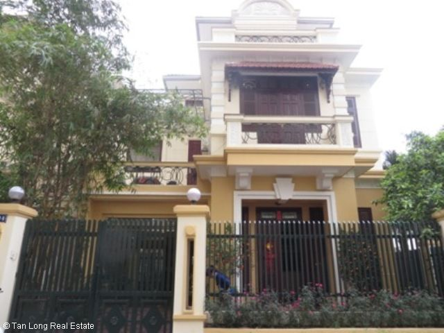 4 bedrooms furnished house for lease in G1 Block, Ciputra, Hanoi at 1300 USD (Ref: R593)
