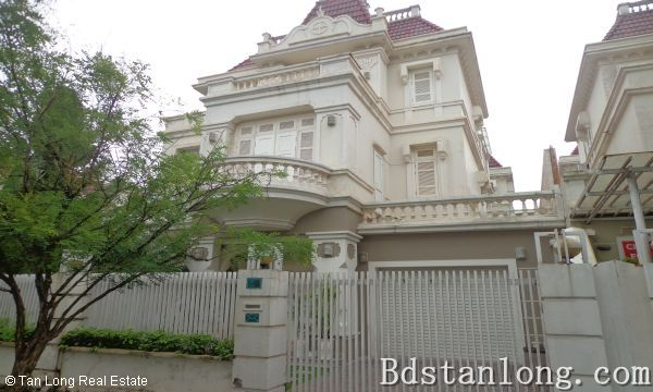 Renting unfurnished house in T4 Ciputra Hanoi (Ref: R1533)